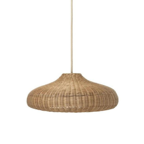 ferm living braided lamp shade natural, available from someday designs