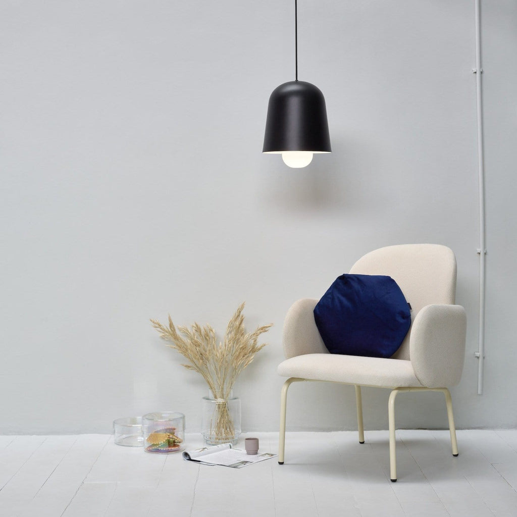 puik cone pendant in black, available to buy at someday designs