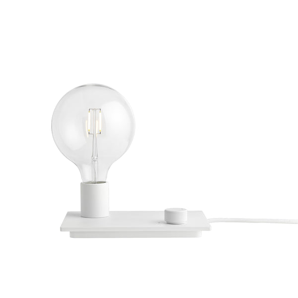 Muuto control lamp white available at someday designs