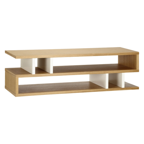 Oak and White Counter Balance Coffee Table from Content by Terence Conran