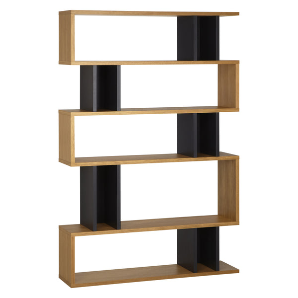 Oak and Charcoal Counter Balance Tall Shelving from Content by Terence Conran