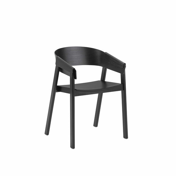 muuto cover armchair in black, available from someday designs