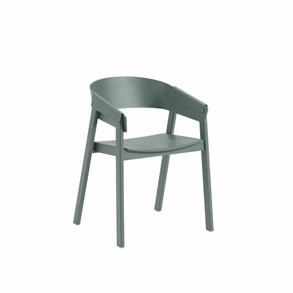 muuto cover armchair in green, available from someday designs
