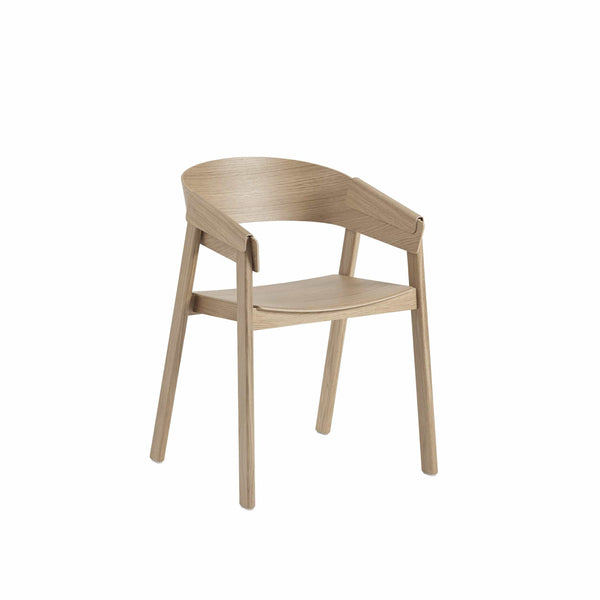 muuto cover armchair in oak, available from someday designs