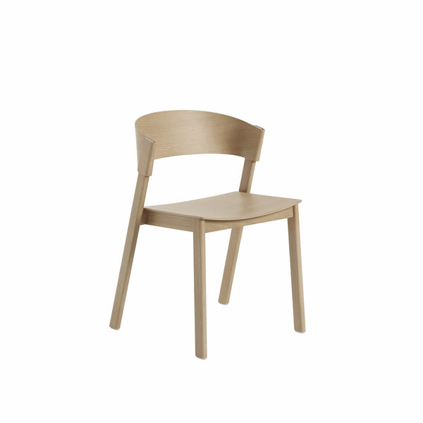 Muuto cover side chair in oak, available from someday designs