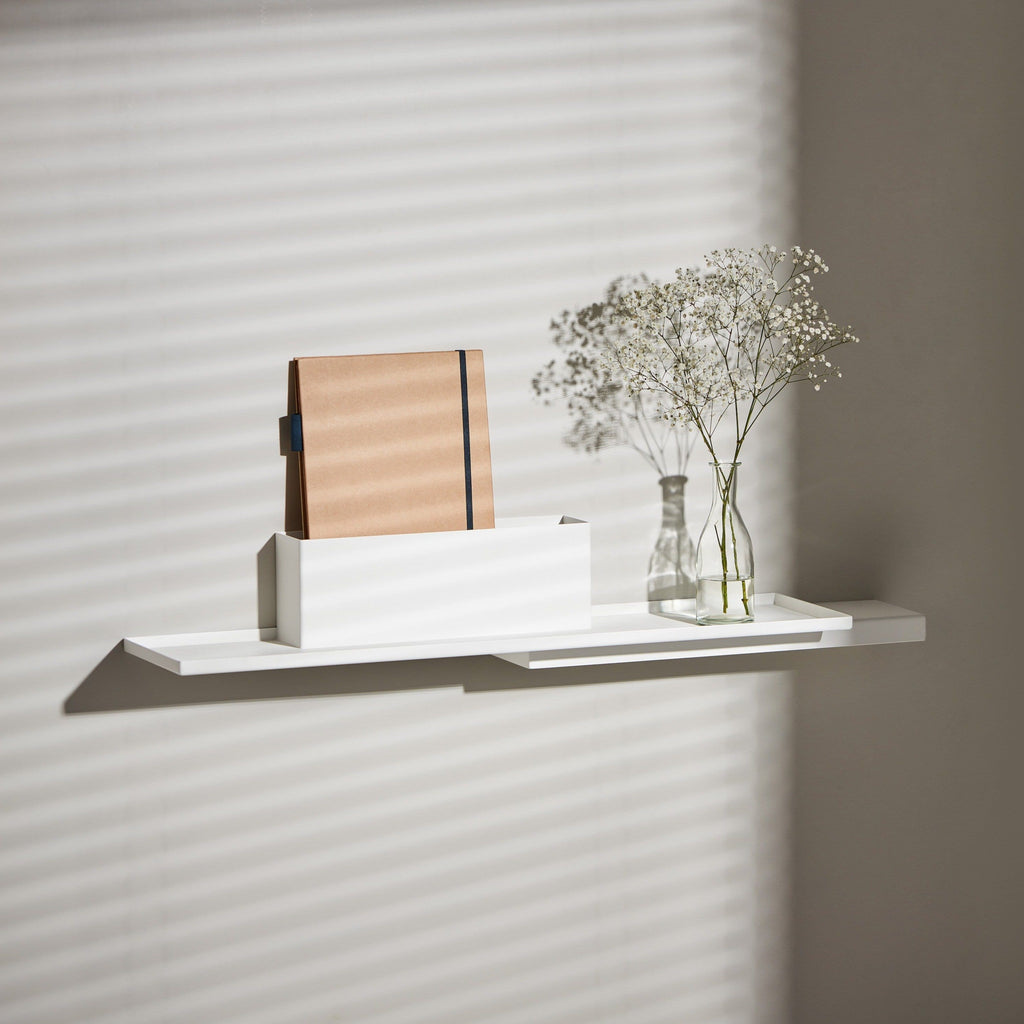 puik duplex shelf in white, available to buy from someday designs