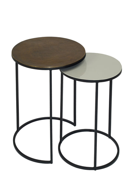 fera round side tables