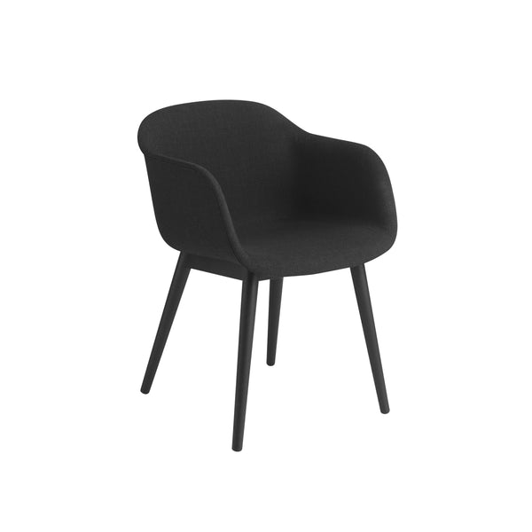 muuto fiber armchair wood base in remix 183, available at someday designs