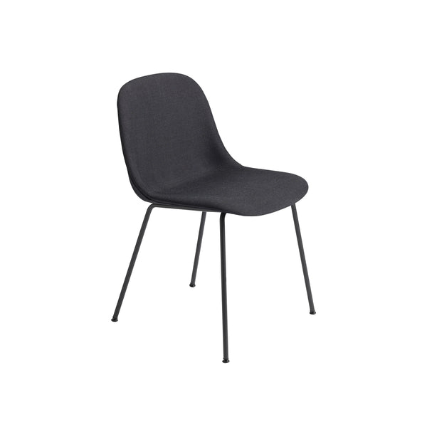 Muuto Fiber Side Chair Tube Base, remix 183 seat and black legs. Available from someday designs