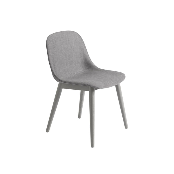 Muuto Fiber Side Chair Wood Base in remix 133 and grey, available from someday designs