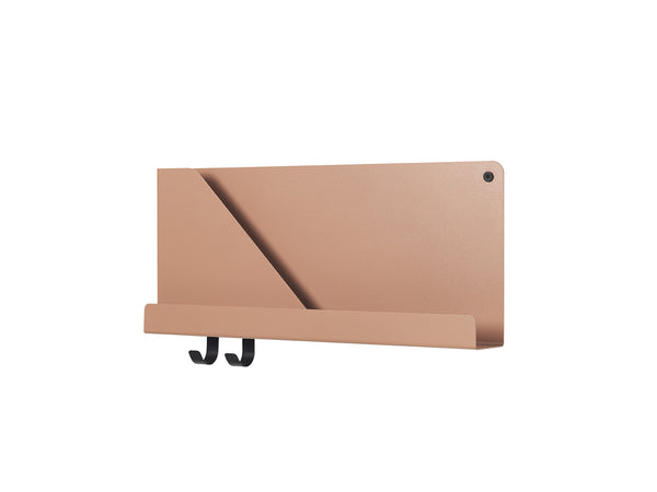 muuto folded shelf small light terracotta available at someday designs