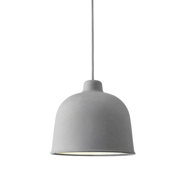 muuto grain pendant light grey available at someday designs