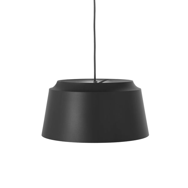 puik groove pendant large in black, available from someday designs