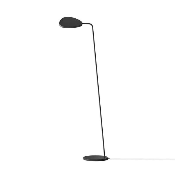 muuto leaf floor lamp black, available at someday designs
