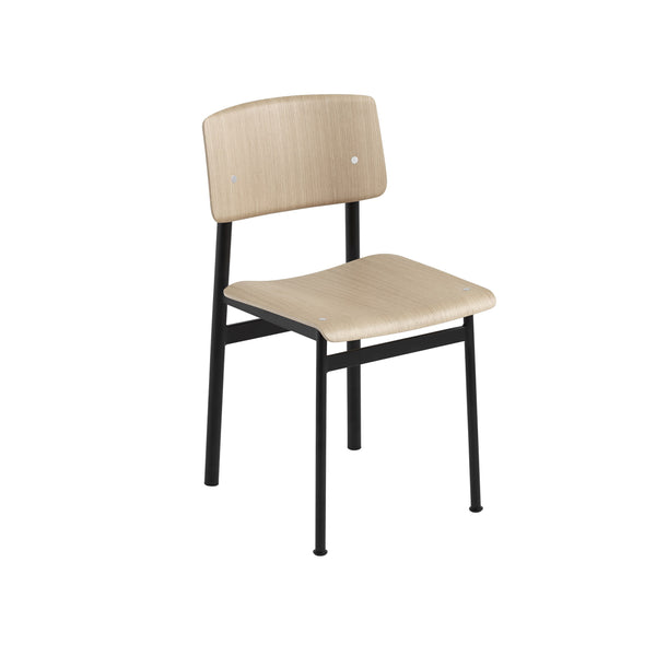 muuto loft chair oak black available at someday designs