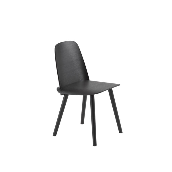 muuto nerd chair in black. A great modern dining chair, buy now from someday designs