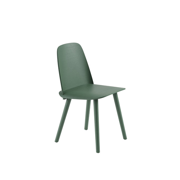 muuto nerd chair in green. A great modern dining chair, buy now from someday designs