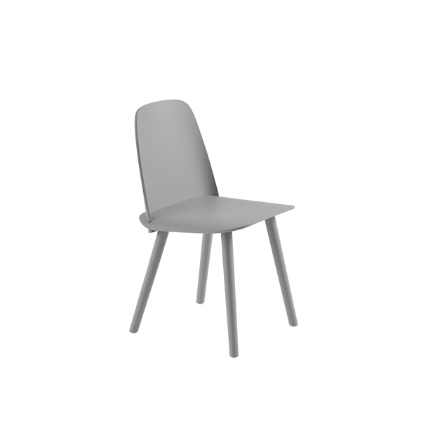 muuto nerd chair in grey. A great modern dining chair, buy now from someday designs