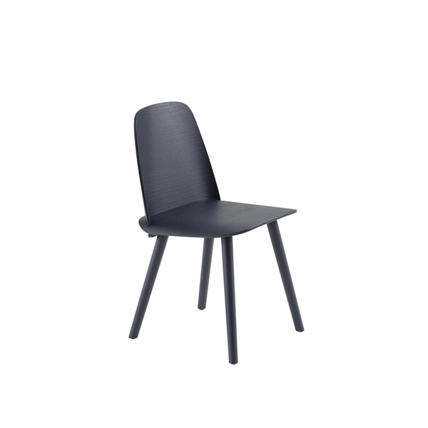 muuto nerd chair in midnight blue. A great modern dining chair, buy now from someday designs