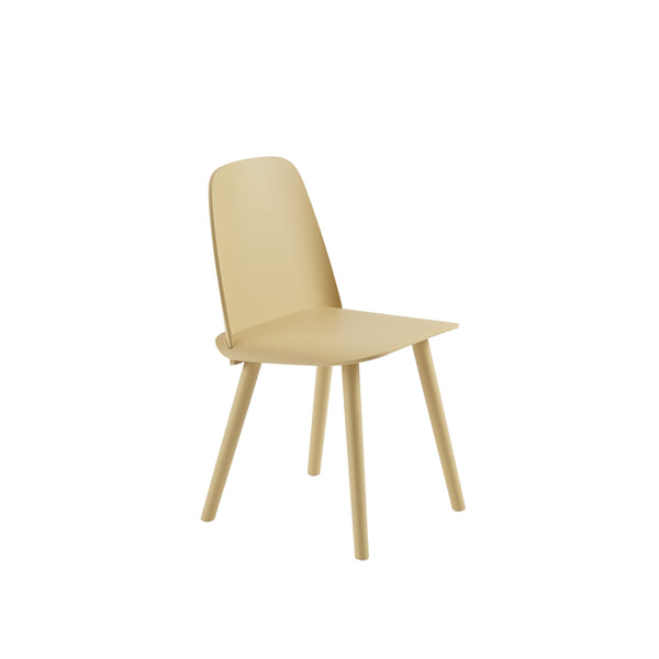 muuto nerd chair in sand yellow. A great modern dining chair, buy now from someday designs