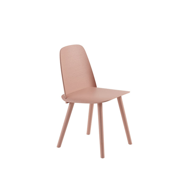 muuto nerd chair in tan rose. A great modern dining chair, buy now from someday designs