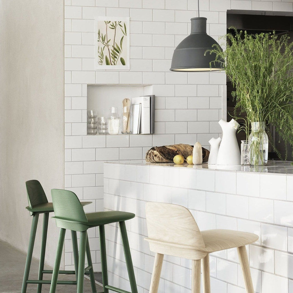 muuto unfold pendant in kitchen bar available at someday designs