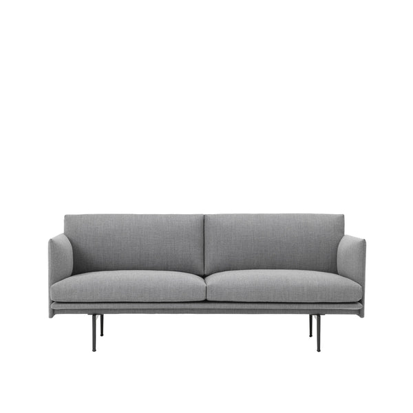 muuto outline 2 seater sofa fiord kvadrat fabric available at someday designs