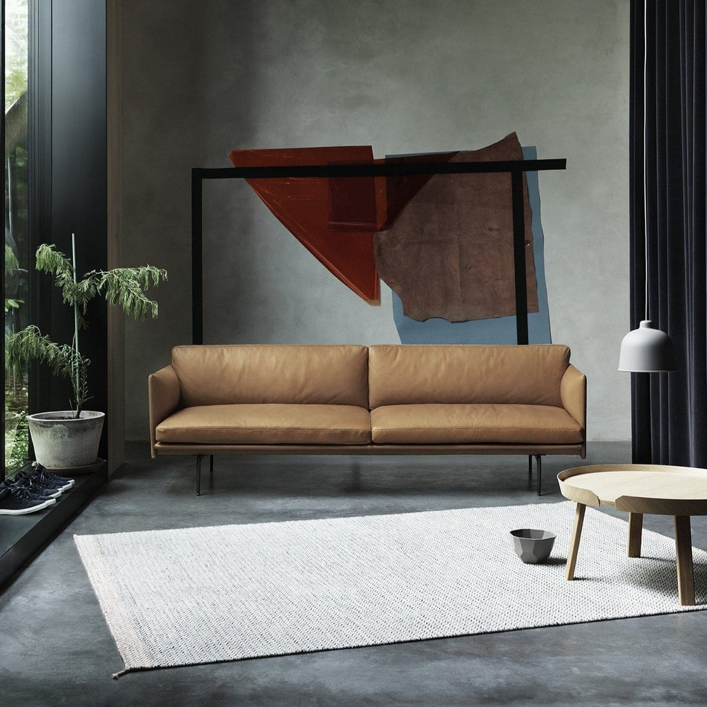 muuto outline sofa, around coffee tables large oak available at someday designs