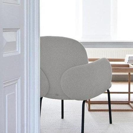 puik dost lounge chair in ivory, available from someday designs
