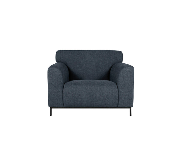 muna chair in pure 01 navy black legs