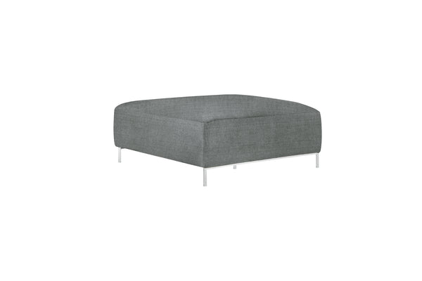 muna footstool in pure 02 grey