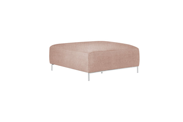 muna 2 footstool in pure 04 nude pink