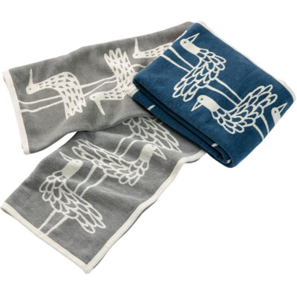 @somedaydesigns.co.uk | klippan shore birds blanket
