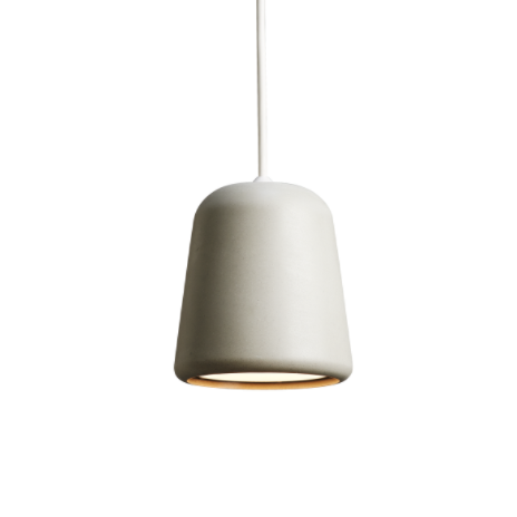 @somedaydesigns.co.uk | material pendant light grey concrete