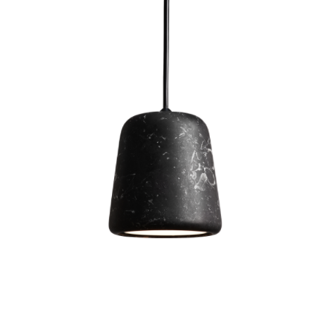 @somedaydesigns.co.uk | material pendant black marble