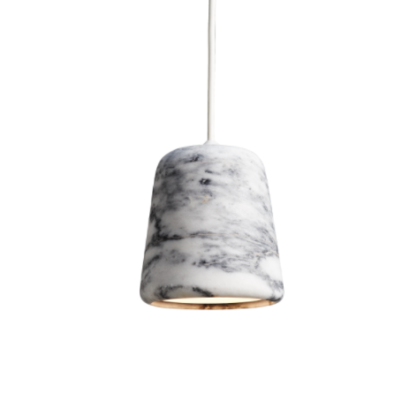 @somedaydesigns.co.uk | material pendant white marble