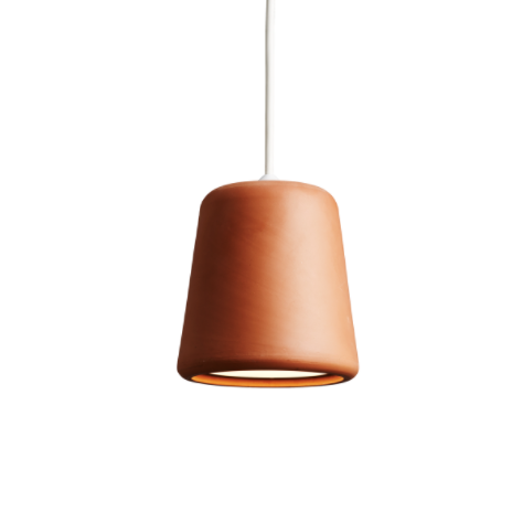 @somedaydesigns.co.uk | material pendant terracotta