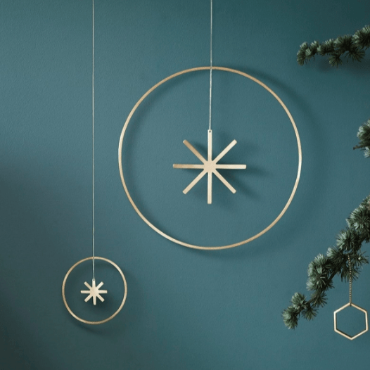winterland star large and small by ferm living