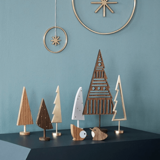 festive still life winterland birds by ferm living