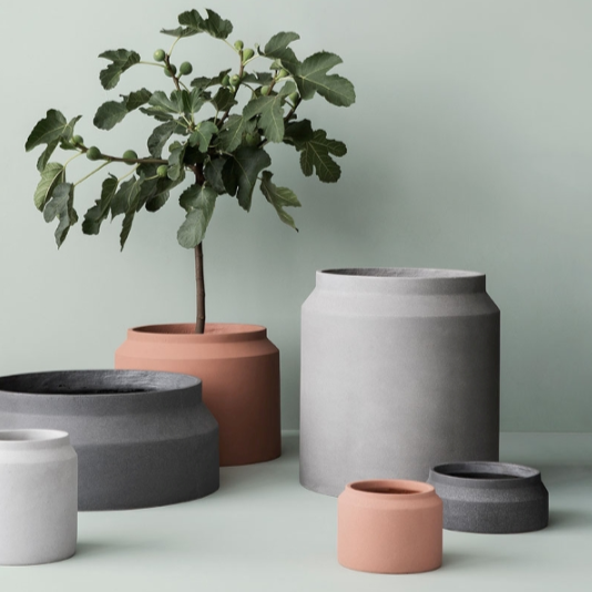 ferm living collection of plant pots
