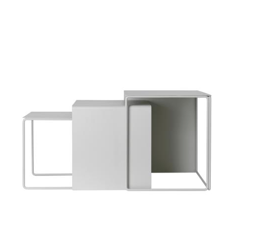cluster tables grey by Ferm Living available to buy at someday designs