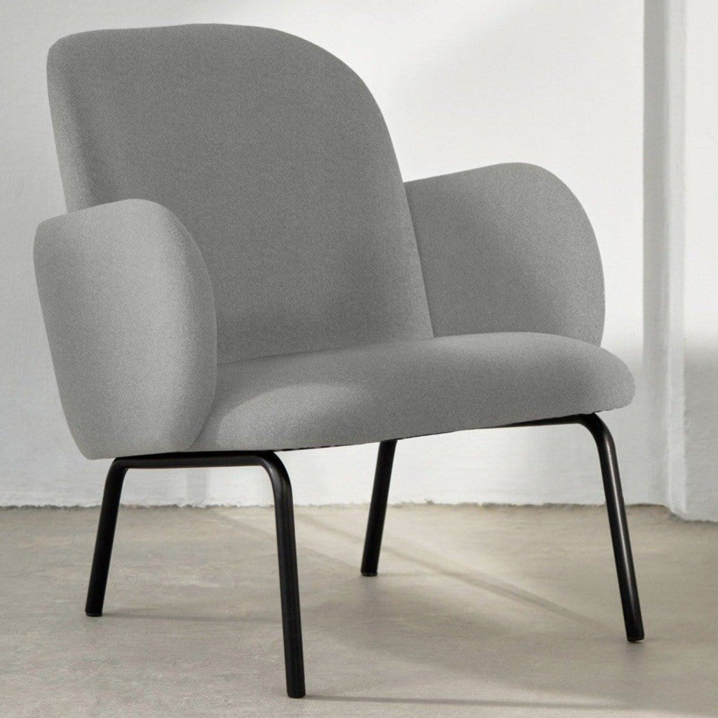 puik dost lounge chair in light grey, available from someday designs