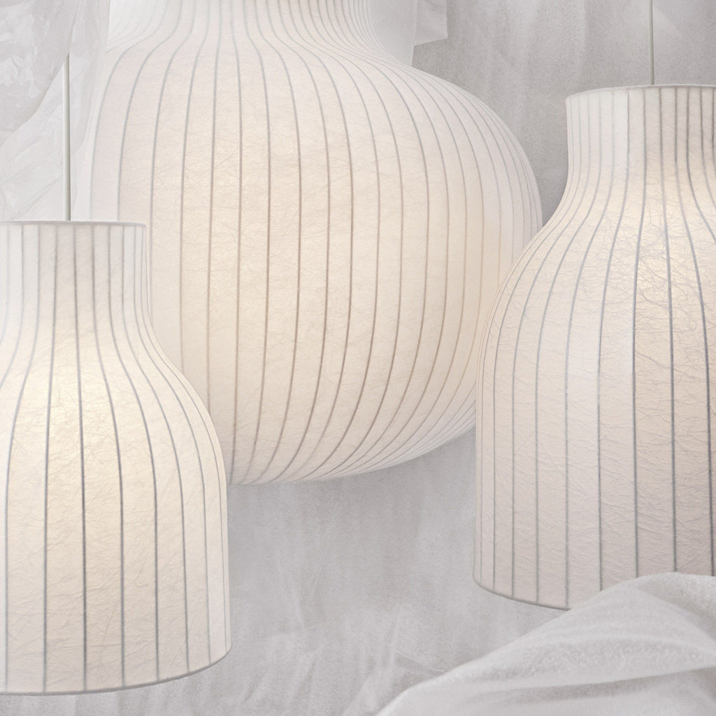 Muuto Strand Pendant Ceiling Lamp series. Available from someday designs