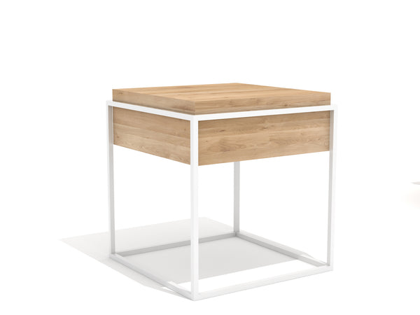@somedaydesigns.co | monolit side table s white