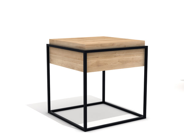 @somedaydesigns.co | monolit side table s black
