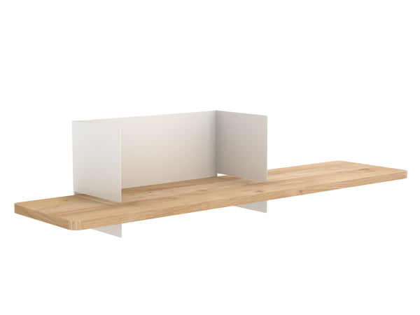 @somedaydesigns.co | clip wall shelf m white