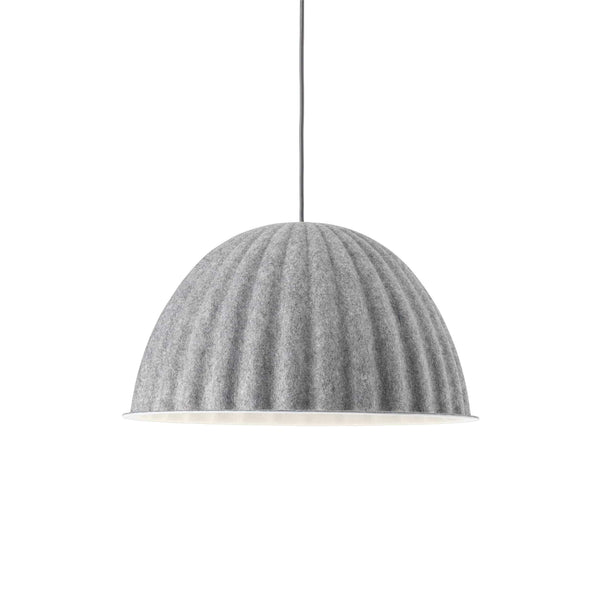 muuto under the bell pendant lamp grey small available at someday designs