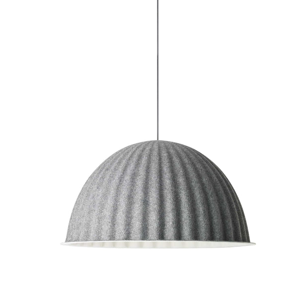 muuto under the bell pendant lamp grey