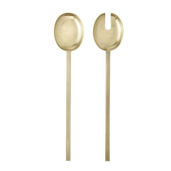 Ferm Living fein salad servers. Buy online from someday designs.