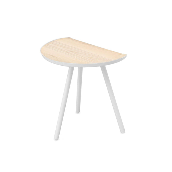 Vitamin Eclipse table in white and ash. Great space saving solution. Shop online at someday designs